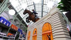 Équitation: Trois Marocains au Saut Hermès