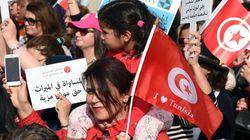 La manifestation pour réclamer l'égalité en héritage en
