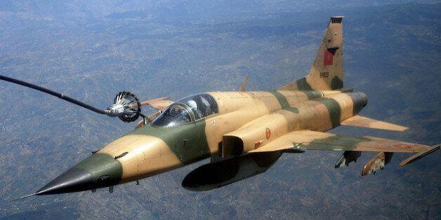 Un F-5 des Forces royales