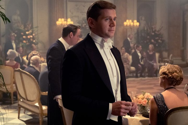 Allen Leech stars as Tom Branson.