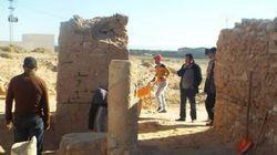 L'église byzantine découverte il y'a une semaine à Tozeur a été en partie