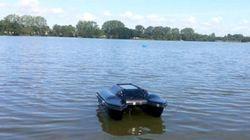 Un drone aquatique pour le suivi de l'envasement des
