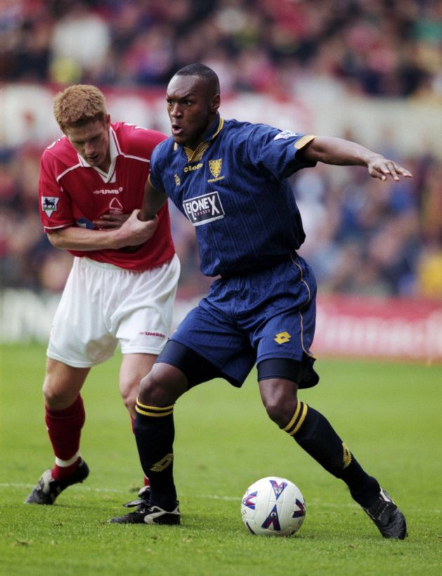 Marcus Gayle in action for