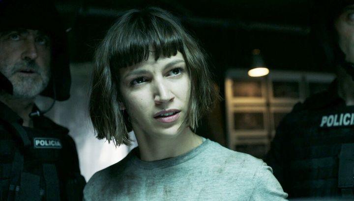 Úrsula Corberó en una escena de 'La casa de papel'.