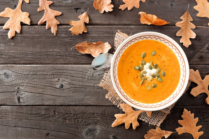 If autumn was a food, it would be this butternut squash soup.