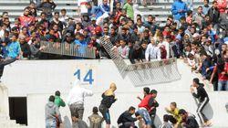 Violence dans les stades: 90 blessés et 130 personnes arrêtées en 2017 à l'Ouest du