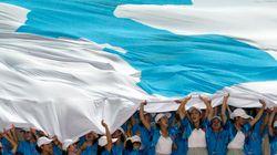 Qu'est-ce que ce drapeau sous lequel vont défiler les deux Corées aux JO