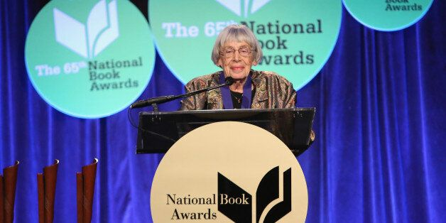 NEW YORK, NY - NOVEMBER 19: Ursula K. Le Guin attends 2014 National Book Awards on November 19, 2014...