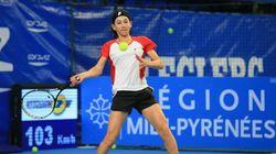 A seulement 19 ans, Ines Ibbou donne déjà de l'espoir au tennis