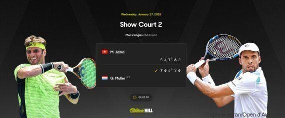 Malek Jaziri défait en 5 sets au deuxième tour de l'Open