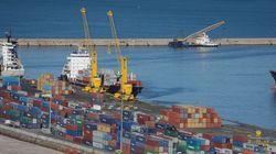 Le déficit du commerce extérieur de l'Algérie a reculé de 34% en