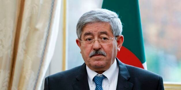 Algerian Prime Minister Ahmed Ouyahia attends the 4th Intergovernmental Committee between France and...