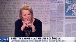 Brigitte Lahaie, en larmes, regrette sur TV5 Monde d'avoir été