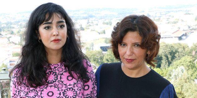 ANGOULEME, FRANCE - AUGUST 24: (L-R) Team of the movie 'La belle et la meute', actress Mariam Al Ferjani...