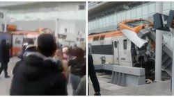 ONCF: Un accident de train survenu ce samedi à la gare de Casa