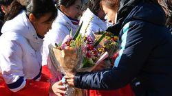JO-2018: les hockeyeuses nord-coréennes débarquent au Sud pour les