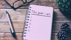 5 conseils pour bien tenir ses résolutions de 2018 et bien commencer son