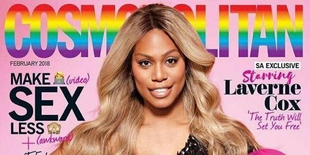 Laverne Cox, première femme trans en couverture de