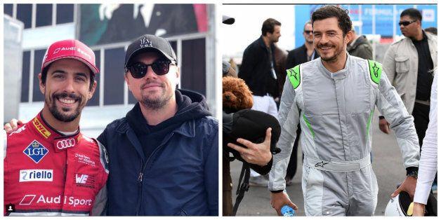 Formule E: Leonardo DiCaprio et Orlando Bloom à