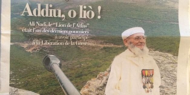 Goumier marocain: Il n'y aura pas de rue Ali Nodi à Bastia en