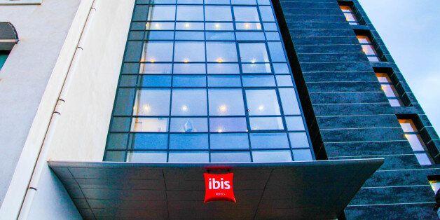 Vue de l'Hôtel Ibis à Oran, le 19 décembre
