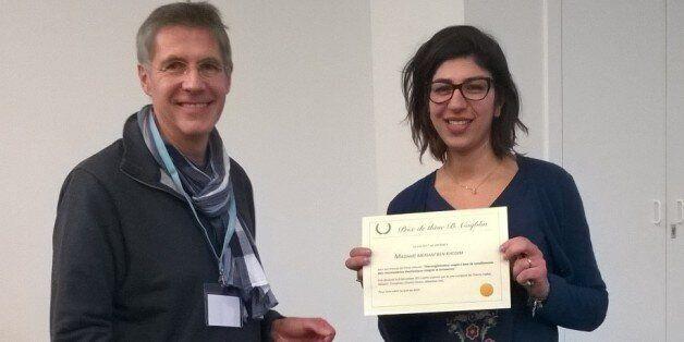 Cette jeune tunisienne, docteur en physique, a reçu le prix Bernard Coqblin à