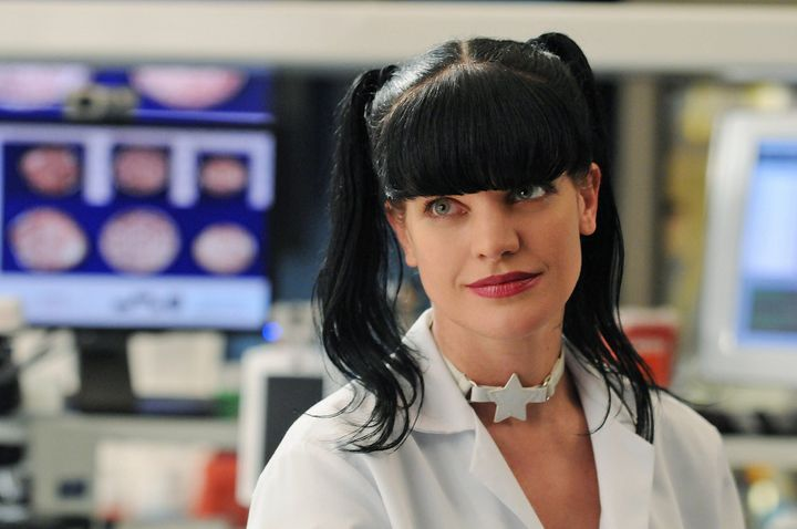 "Pauley Perrette played goth forensic specialist Abby Sciuto on ""NCIS."""