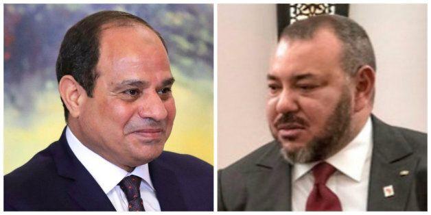 Le roi adresse ses condoléances au président égyptien après l'attaque dans une
