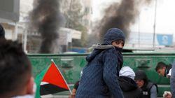 Nouvelles manifestations de Palestiniens pour