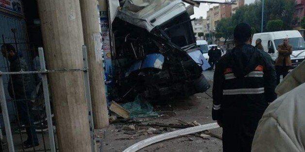 Accident: Un bus renverse plusieurs piétons à