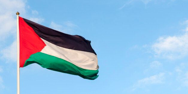 Palestinian flag and skyMore of my images from Jerusalem and the West
