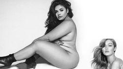 Cette top model reproduit la photo nue de Gigi Hadid pour aider les femmes à mieux
