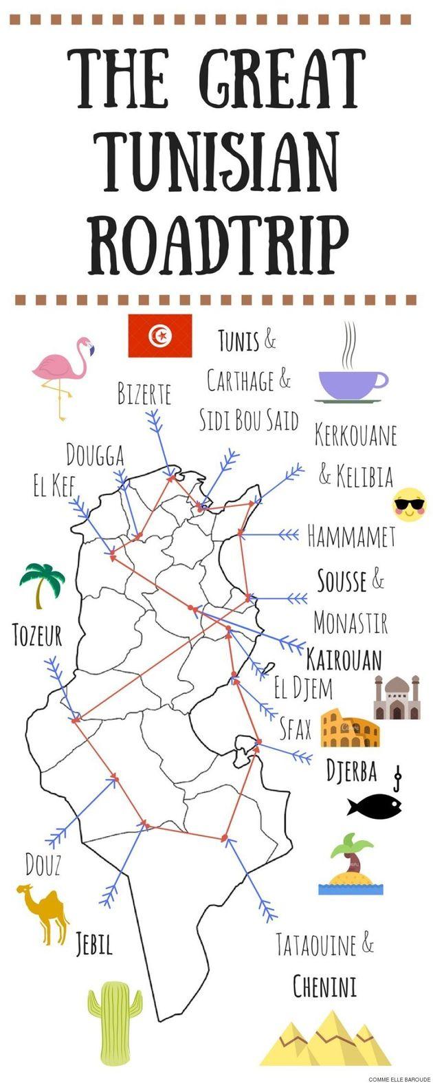 Des Tunisiens à l'autre bout du monde et des étrangers qui sillonnent la Tunisie: L'année 2017 a été...