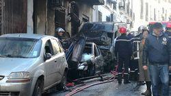 Un incendie ravage plusieurs véhicules à Alger-Centre