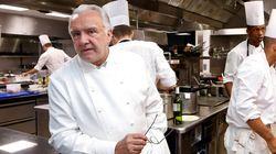 Quand le Chef cuisinier français Alain Ducasse propose son