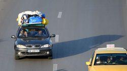 Levée de l'interdiction de débarquement au port de La Goulette de véhicules utilitaires avec des bagages sur le