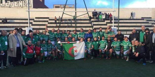 Tournoi maghrébin de rugby: victoire de l'Algérie devant la Tunisie