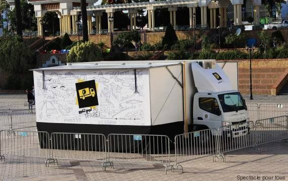 Le camion-théâtre