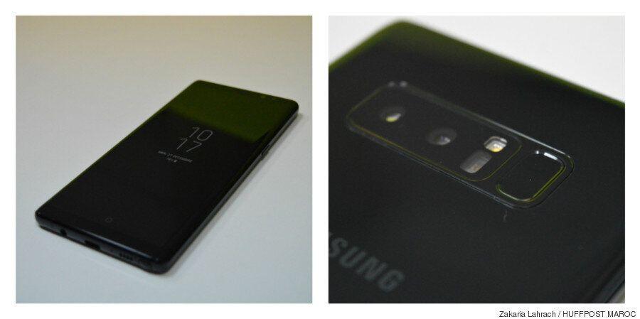 Le Samsung Galaxy Note 8 au banc