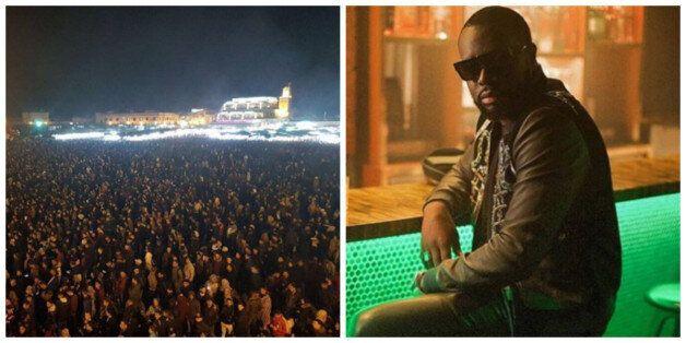 Marrakech: La place Jemaa El Fna noire de monde pour Maître