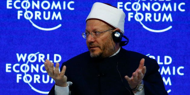 Egypt's Grand Mufti Dr. Shawki Ibrahim Abdel-Karim Allam attends the annual meeting of the World Economic...