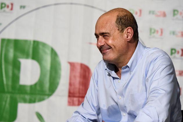 TURIN, ITALY - 2019/09/15: Nicola Zingaretti smiles at Festa de l'Unità in Turin. Nicola Zingaretti is...