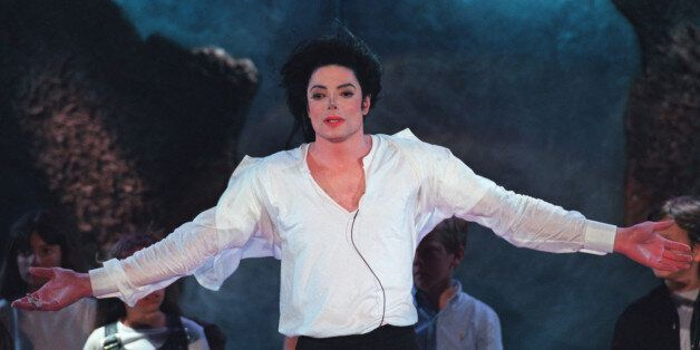 Superstar Michael Jackson