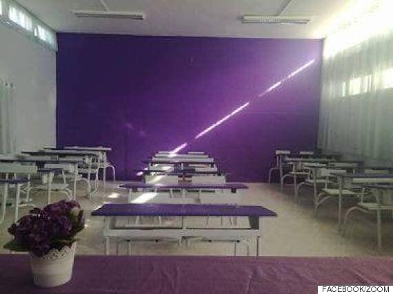 Les élèves du lycée Abdelaziz Khouja de Kelibia rénovent leur salle de classe, une initiative citoyenne...