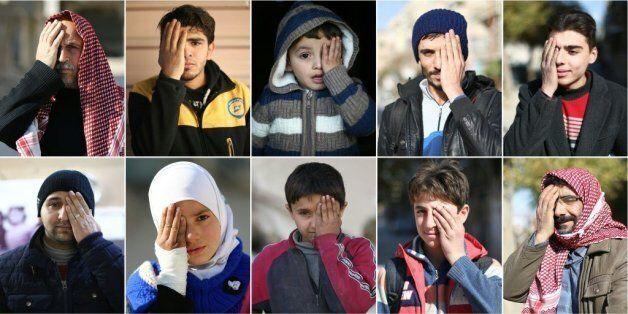 Un bébé blessé dans un raid en Syrie suscite un mouvement de solidarité