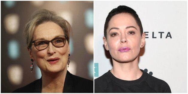Meryl Streep répond à Rose McGowan qui l'accusait d'avoir sciemment gardé le silence sur