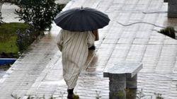 Fortes pluies accompagnées de rafales de vents forts prévues