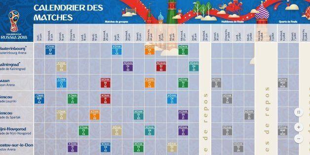 Calendrier Coupe.Le Calendrier Des Matchs De La Tunisie Pour La Coupe Du