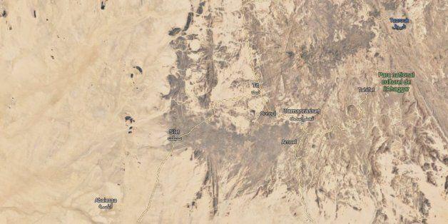 Tamanrasset: Trois terroristes se rendent aux