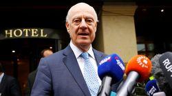La délégation du gouvernement syriens arrive à Genève pour les